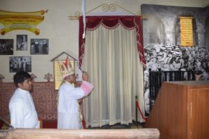 Archbishop Inaugurates the Permanent Exhibition – Pilgrimage of Faith, Old Goa