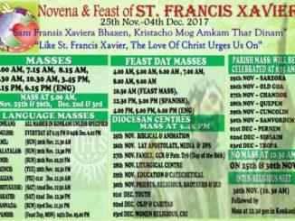 Novena & Feast of St. Francis Xavier